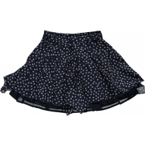 Le Chic Rok - blue navy flower - maat 110