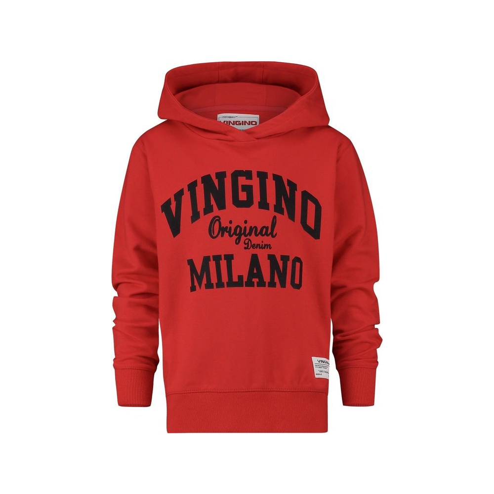 Vingino Jongens Trui - Flame Red - Maat 140