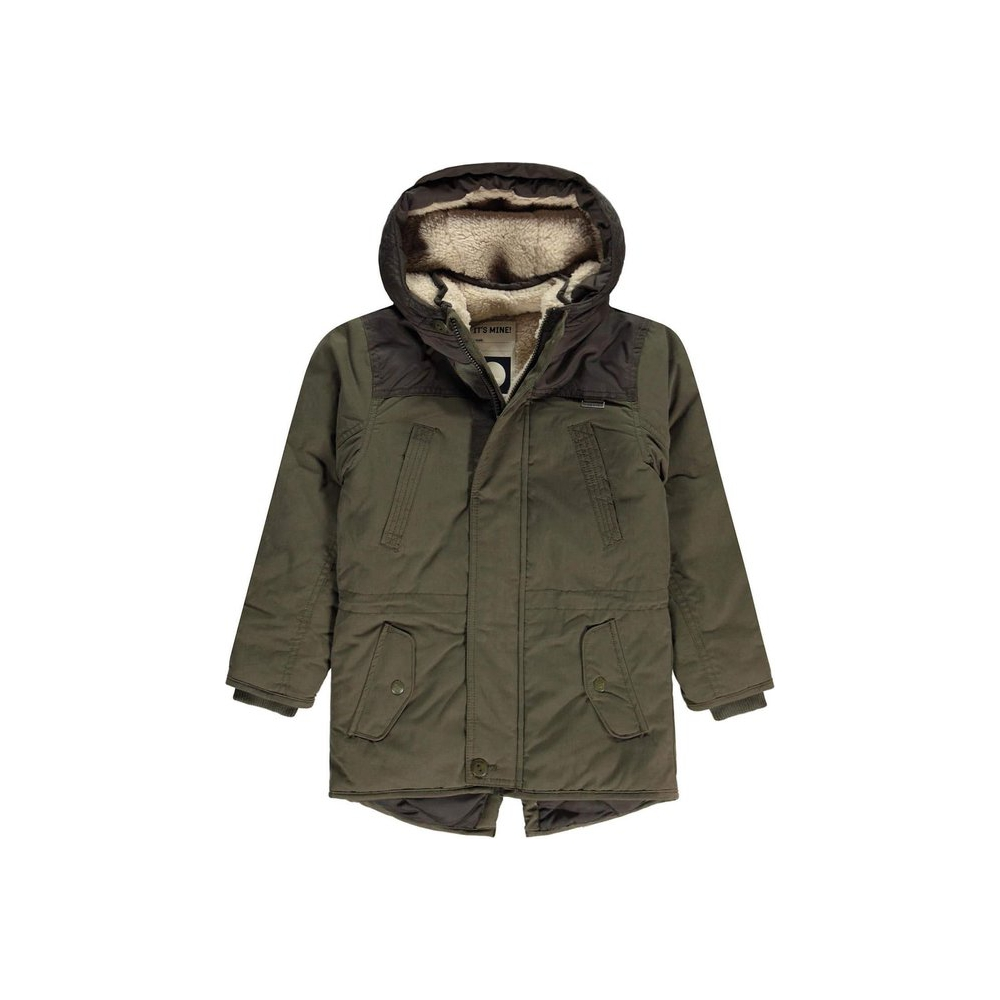 Tumble 'N Dry Winterjas Esomer Green Dark - Maat 122