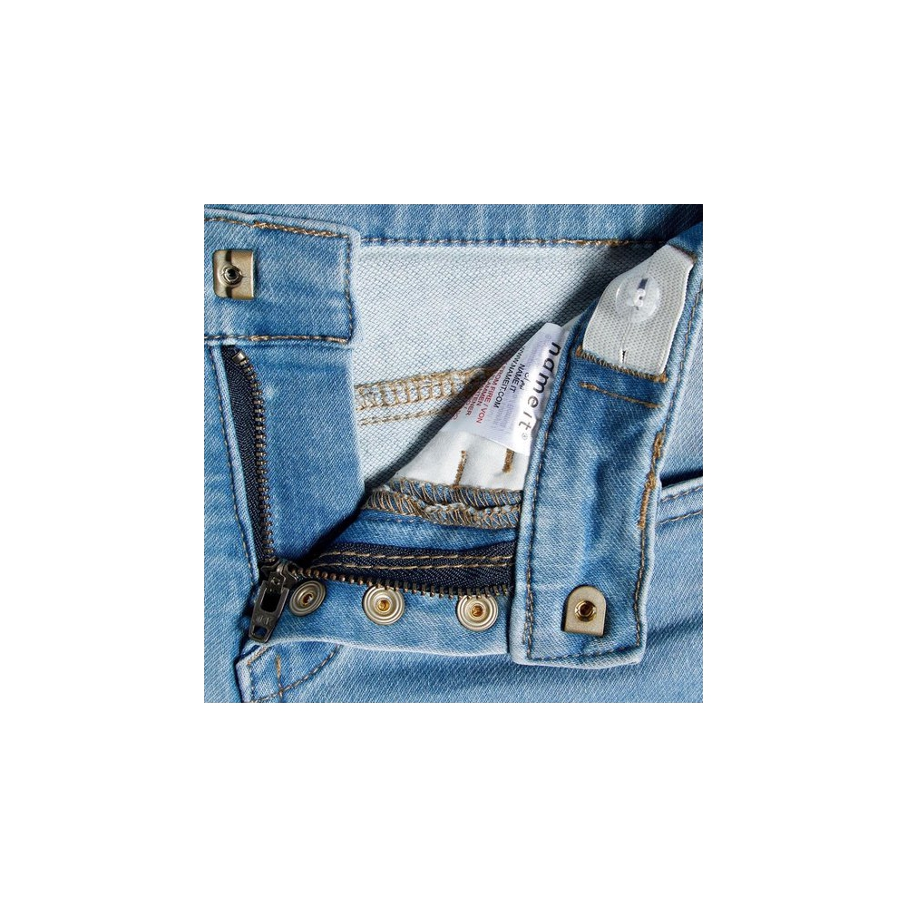 Name it Jongens Jeans - Light Blue Denim - Maat 128
