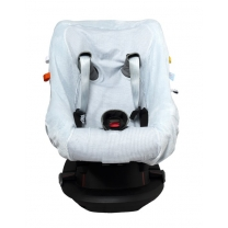 Snoozebaby | Carseat Cover Fading Blue