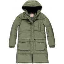 Tumble 'N Dry Winterjas - Green Army - Maat 158/164