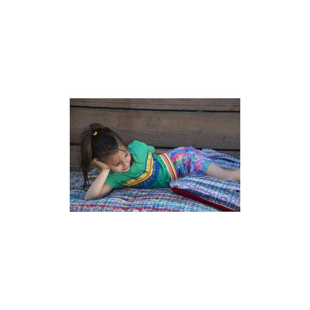Kidz-Art rok allover print Tiger ao - Maat 92