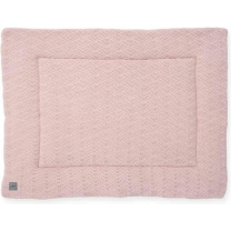 Jollein Boxkleed - 80 x 100 cm - River knit - pale pink