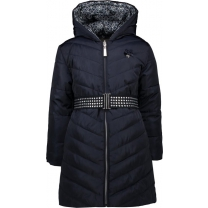 Le Chic Reversible winterjas Blue Navy - Maat 134/140