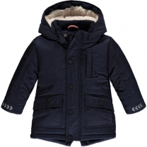 Babyface winter parka dark blue - Maat 104