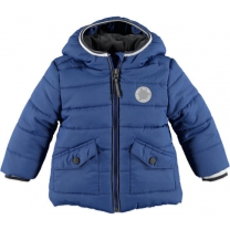 Babyface - boys winter jacket cobalt - Maat 80