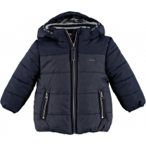 Babyface winter jacket dark blue - Maat 92