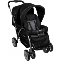 Renolux Duo kinderwagen - Geneva black