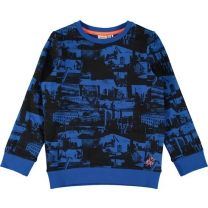 Name It Sweater Imperial Blue maat 116
