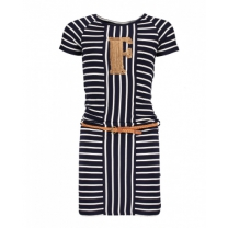 Like Flo Girls Jersey Striped Dress - Maat 116