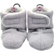 Lodger Babyslofjes Scandinavian Fleece Grijs - 12-18mnd