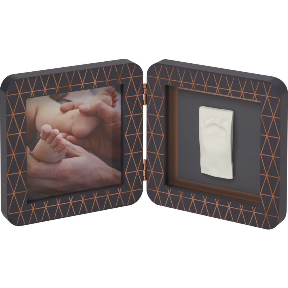 Baby Art My Baby Touch Simple Print Frame Copper Dark