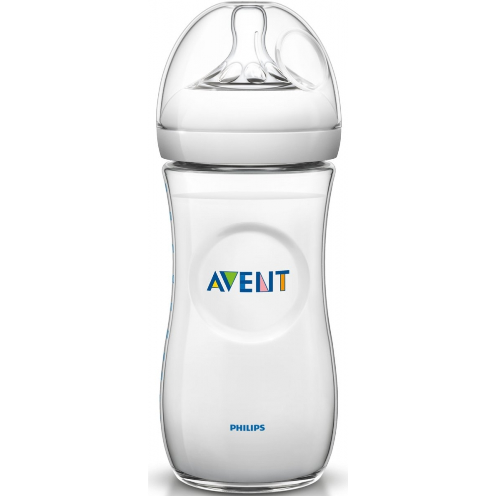 Philips Avent Natural SCF696/17 - Babyfles (330 ml) met