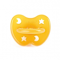 "Hevea speen orthodontisch ""Star & Moon"" 0-3 mnd 100% nat"