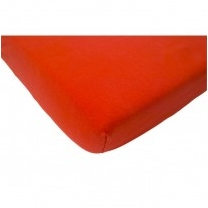 Cools petito jersey hoeslaken 60x120 rood